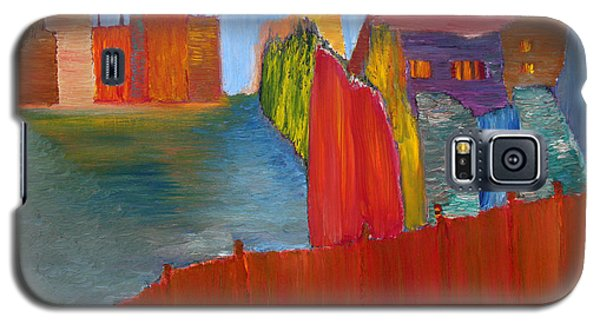 Galaxy S5 Case featuring the painting Contrasts by Vadim Levin