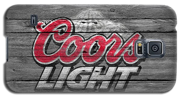 Coors Light Galaxy S5 Case by Joe Hamilton