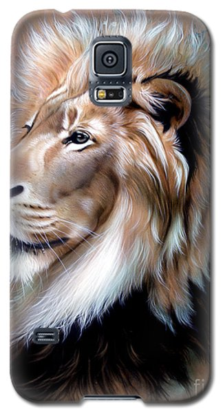Copper King - Lion Galaxy S5 Case