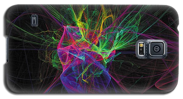 Cosmic Phantom Galaxy S5 Case by The Art of Marsha Charlebois