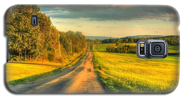 Country Road Galaxy S5 Case by Ed Roberts