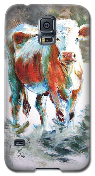Cow Galaxy S5 Case