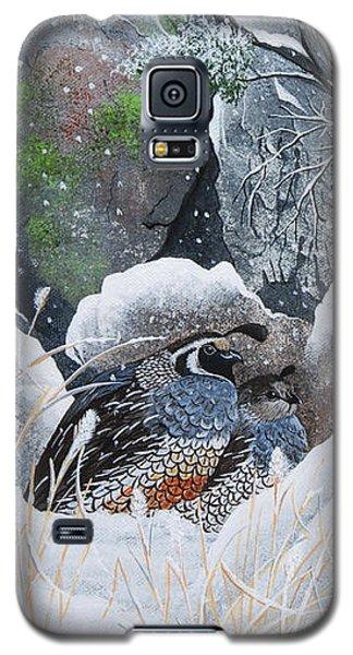 Cozy Couple Galaxy S5 Case by Jennifer Lake