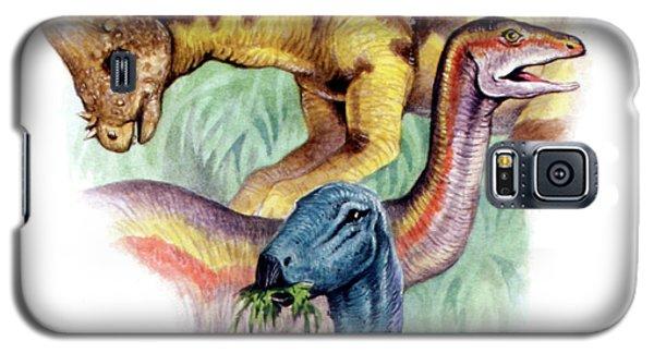 Ostrich Galaxy S5 Case - Cretaceous Herbivorous Dinosaurs by Deagostini/uig