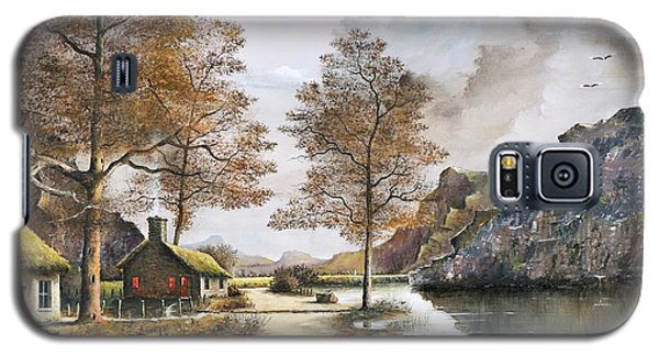 Crofters Cottages Galaxy S5 Case