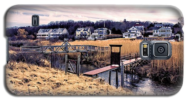Crossing The Eel River  Galaxy S5 Case by Constantine Gregory