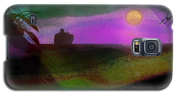 Galaxy S5 Case featuring the photograph Cruise Into The Sunset by Athala Carole Bruckner