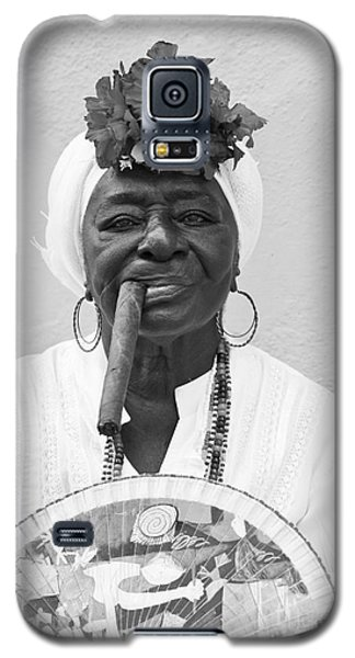 Cuban Lady Galaxy S5 Case