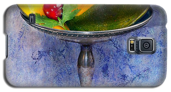 Cut Mango On Sterling Silver Dish Galaxy S5 Case