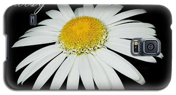 Daisy Galaxy S5 Case by MaryJane Armstrong