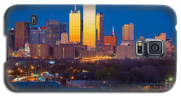 Dallas Skyline Galaxy S5 Case by Inge Johnsson