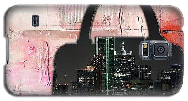Dallas Texas Skyline In A Purse Galaxy S5 Case