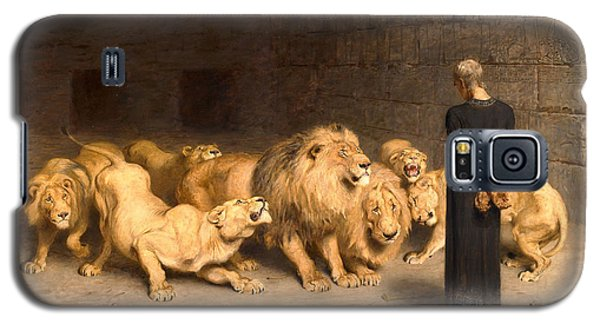 Daniel In The Lions Den Galaxy S5 Case by Briton Riviere
