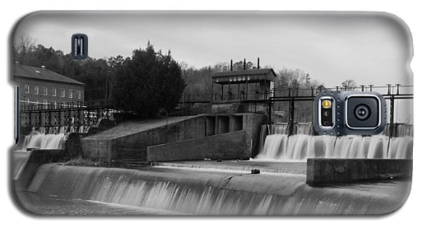 Daniel Pratt Cotton Mill Dam Prattville Alabama Galaxy S5 Case by Charles Beeler