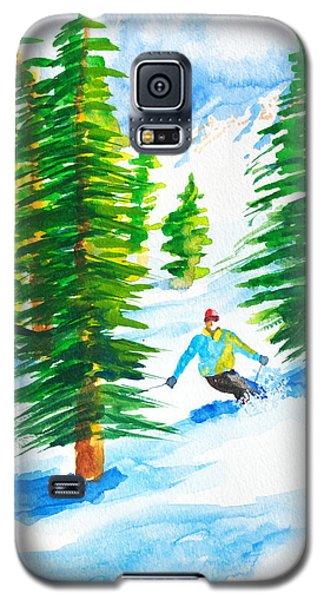 David Skiing The Trees  Galaxy S5 Case