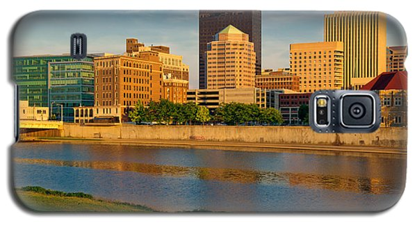 D4u-379 Dayton Skyline Photo Galaxy S5 Case