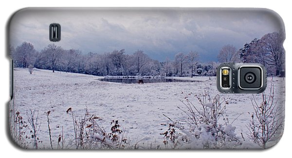 December Snow 005 Galaxy S5 Case by Andy Lawless