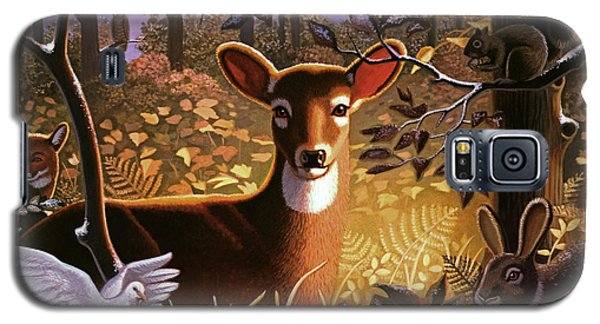 Deer In The Forest Galaxy S5 Case
