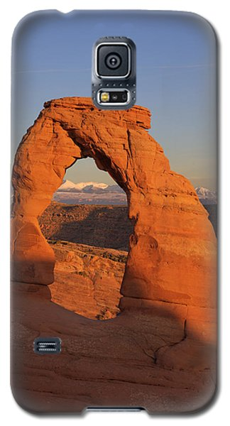 Delicate Arch At Sunset Galaxy S5 Case