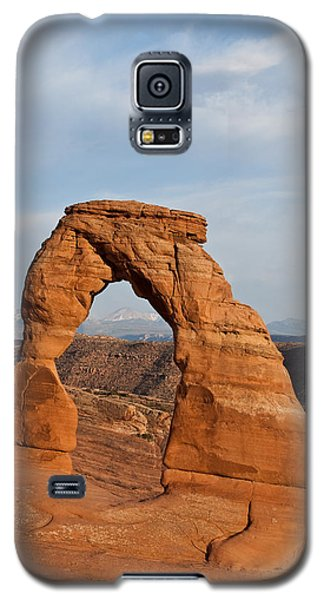 Delicate Arch At Sunset Galaxy S5 Case by Jeff Goulden