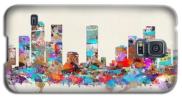 Denver Colorado Skyline Galaxy S5 Case by Bri B