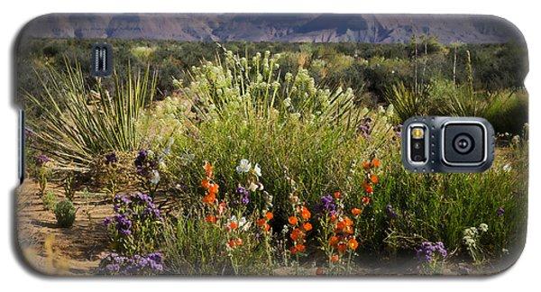 Desert Wildflowers Galaxy S5 Case