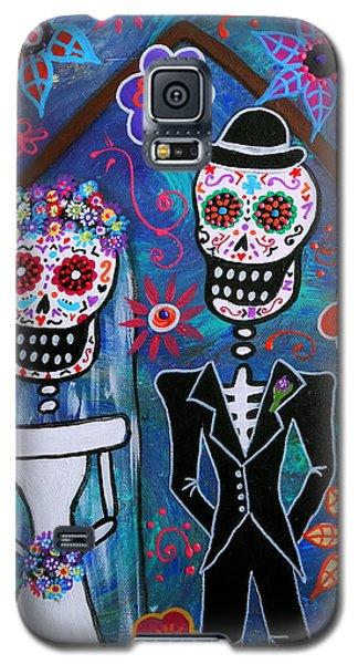 Dia De Los Muertos Wedding Galaxy S5 Case