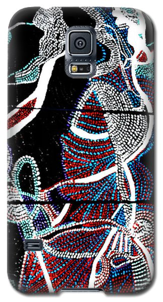 Galaxy S5 Case featuring the painting Dinka by Gloria Ssali