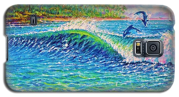 Dolphin Play Galaxy S5 Case