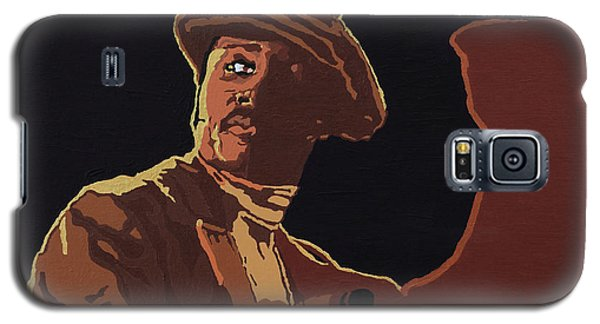 Galaxy S5 Case featuring the painting Donny Hathaway by Rachel Natalie Rawlins