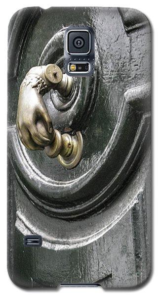 Galaxy S5 Case featuring the photograph Door Knocker by Arlene Carmel