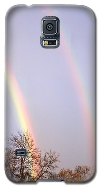 Double Rainbow Galaxy S5 Case