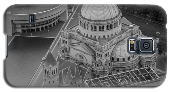 Downtown Boston Bw Galaxy S5 Case by Trace Kittrell