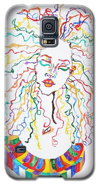 Dreadlocks Piano Goddess Galaxy S5 Case by Stormm Bradshaw