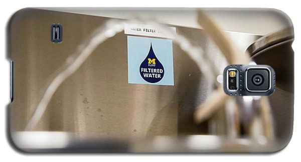 Drinking Water Filtration Sign Galaxy S5 Case by Jim West