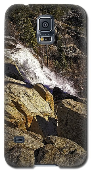 Galaxy S5 Case featuring the photograph Eagle Falls by Nancy Marie Ricketts