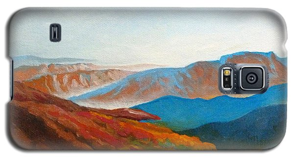 East Fall Blue Ridge Mountains 2 Galaxy S5 Case