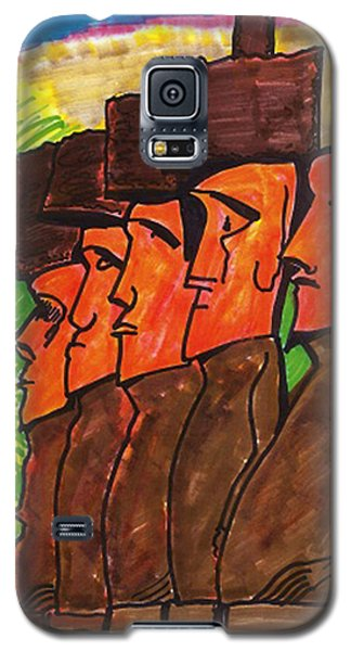 Easter Island Galaxy S5 Case
