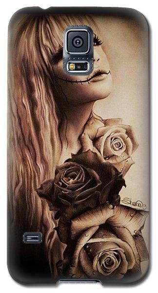 Ebony Galaxy S5 Case by Sheena Pike