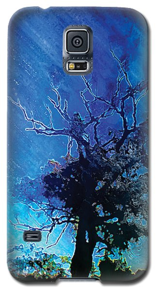 Electric Tree Galaxy S5 Case by The Art of Marsha Charlebois