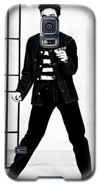 Elvis Presley Galaxy S5 Case by Doc Braham
