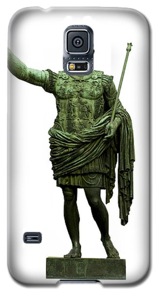 Emperor Caesar Augustus Galaxy S5 Case