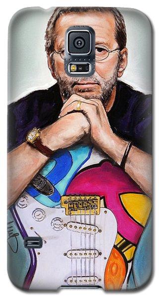 Eric Clapton Galaxy S5 Case - Eric Clapton by Melanie D