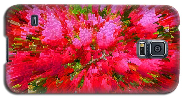 Explosion Of Spring Galaxy S5 Case