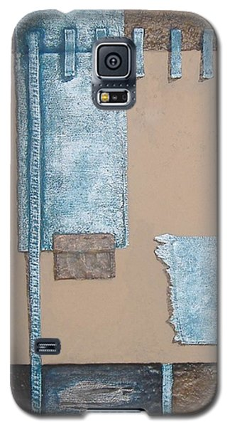 Galaxy S5 Case featuring the mixed media Fading Dreams by Steve  Hester