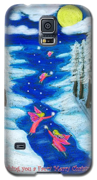 Faery Merry Christmas Galaxy S5 Case by Diana Haronis