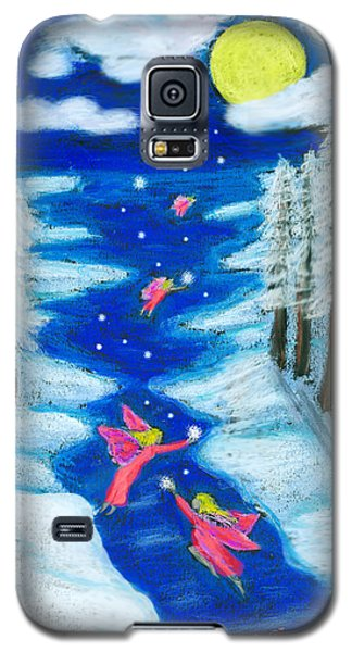 Faery Merry Christmas Galaxy S5 Case