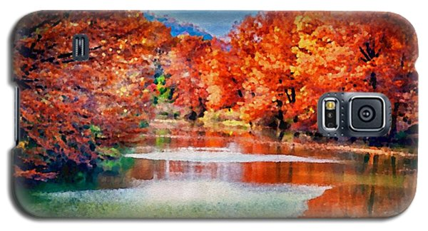 Fall On The Guadalupe Wc Galaxy S5 Case