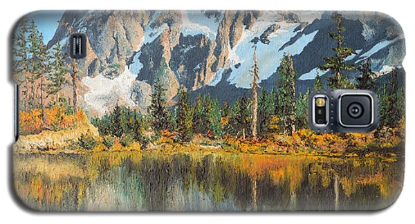 Fall Reflections - Cascade Mountains Galaxy S5 Case by Mary Ellen Anderson