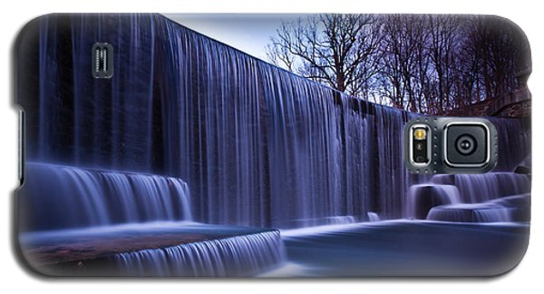 Galaxy S5 Case featuring the photograph Falling Water by Mihai Andritoiu